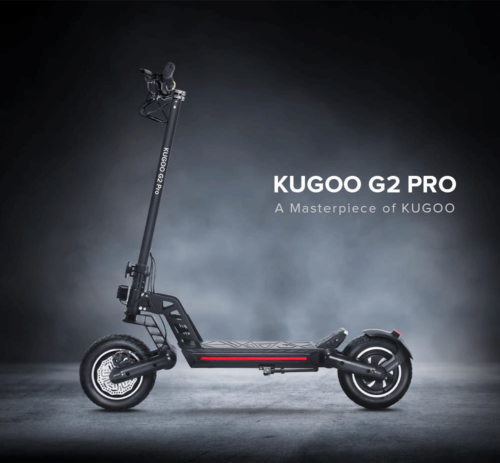 A side photo of the KUGOO G2 PRO